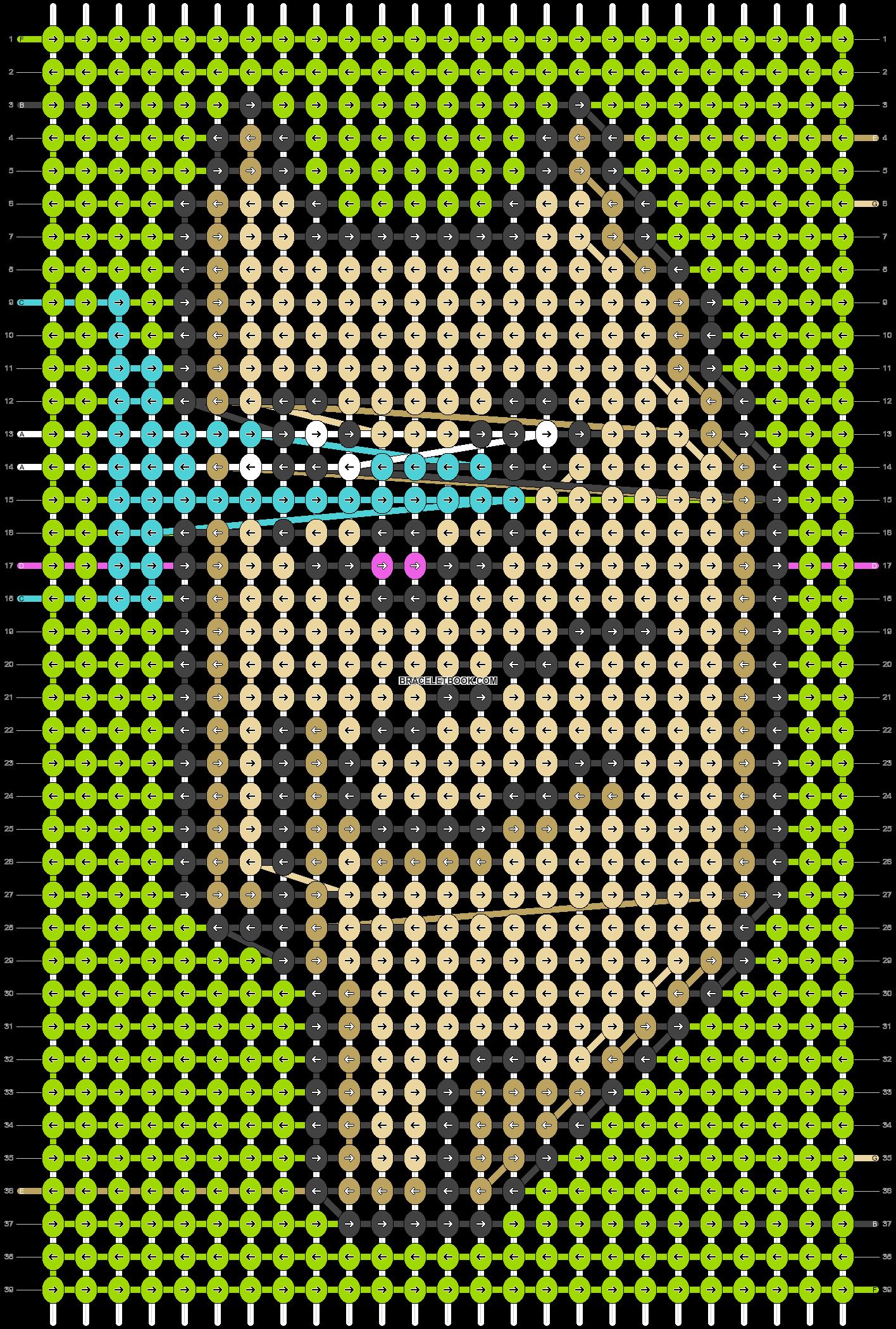 Alpha pattern #66620 pattern