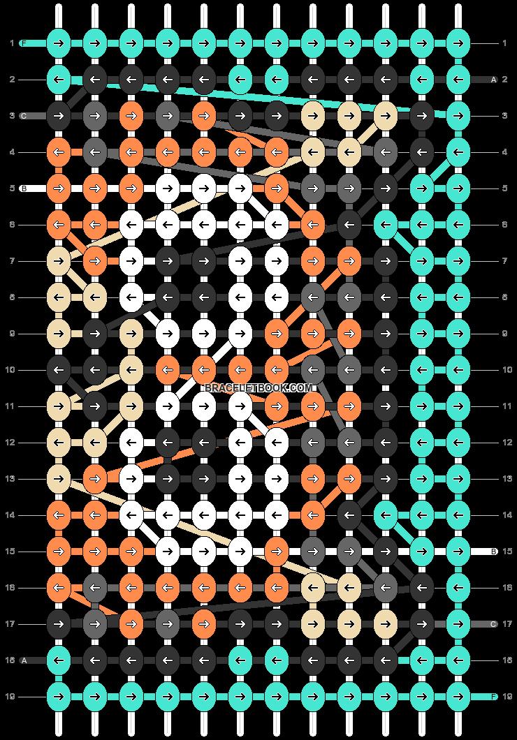Alpha pattern #66637 pattern