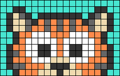 Alpha pattern #66637