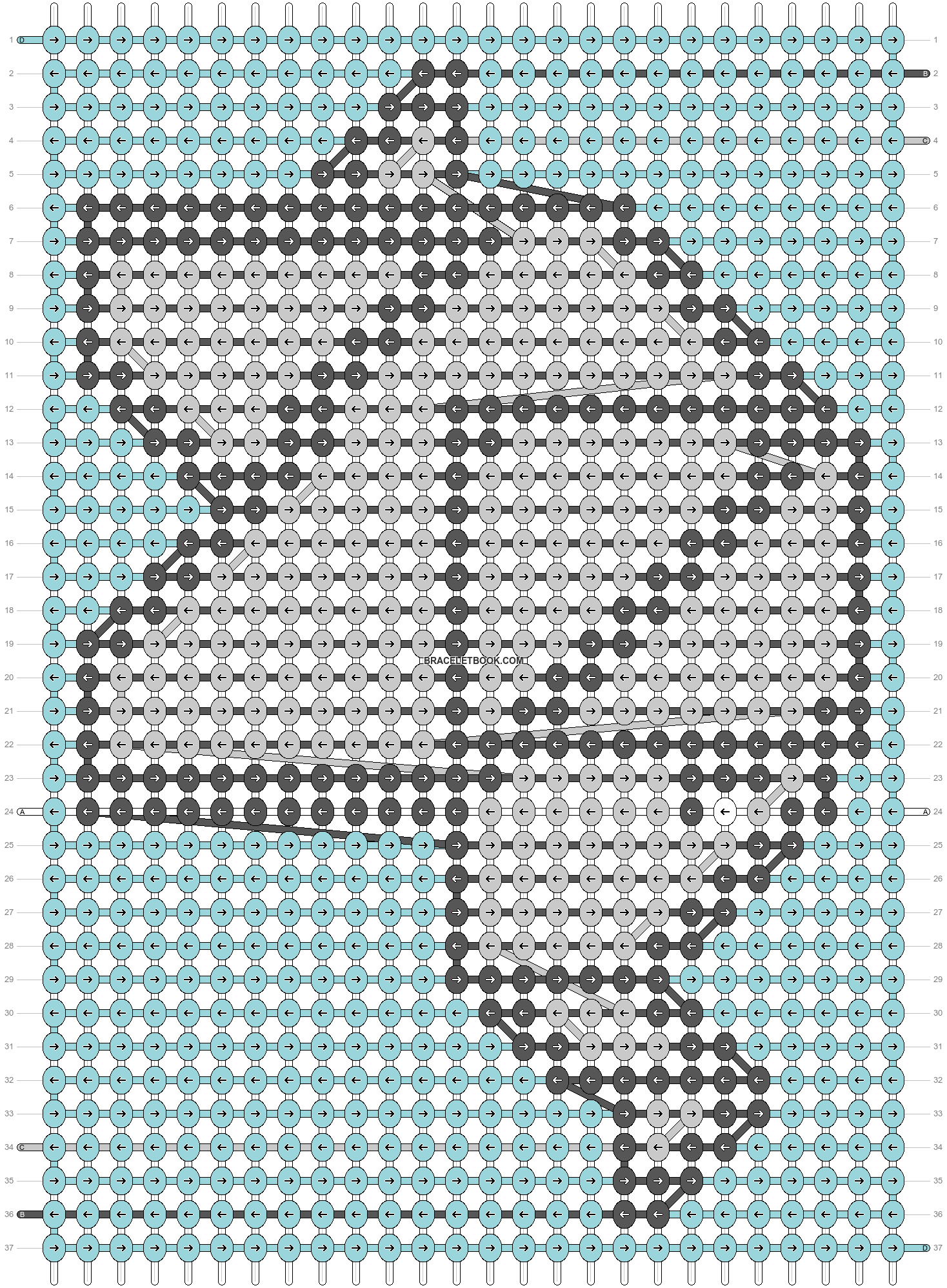 Alpha pattern #66642 pattern