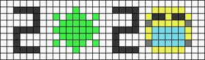 Alpha pattern #66664