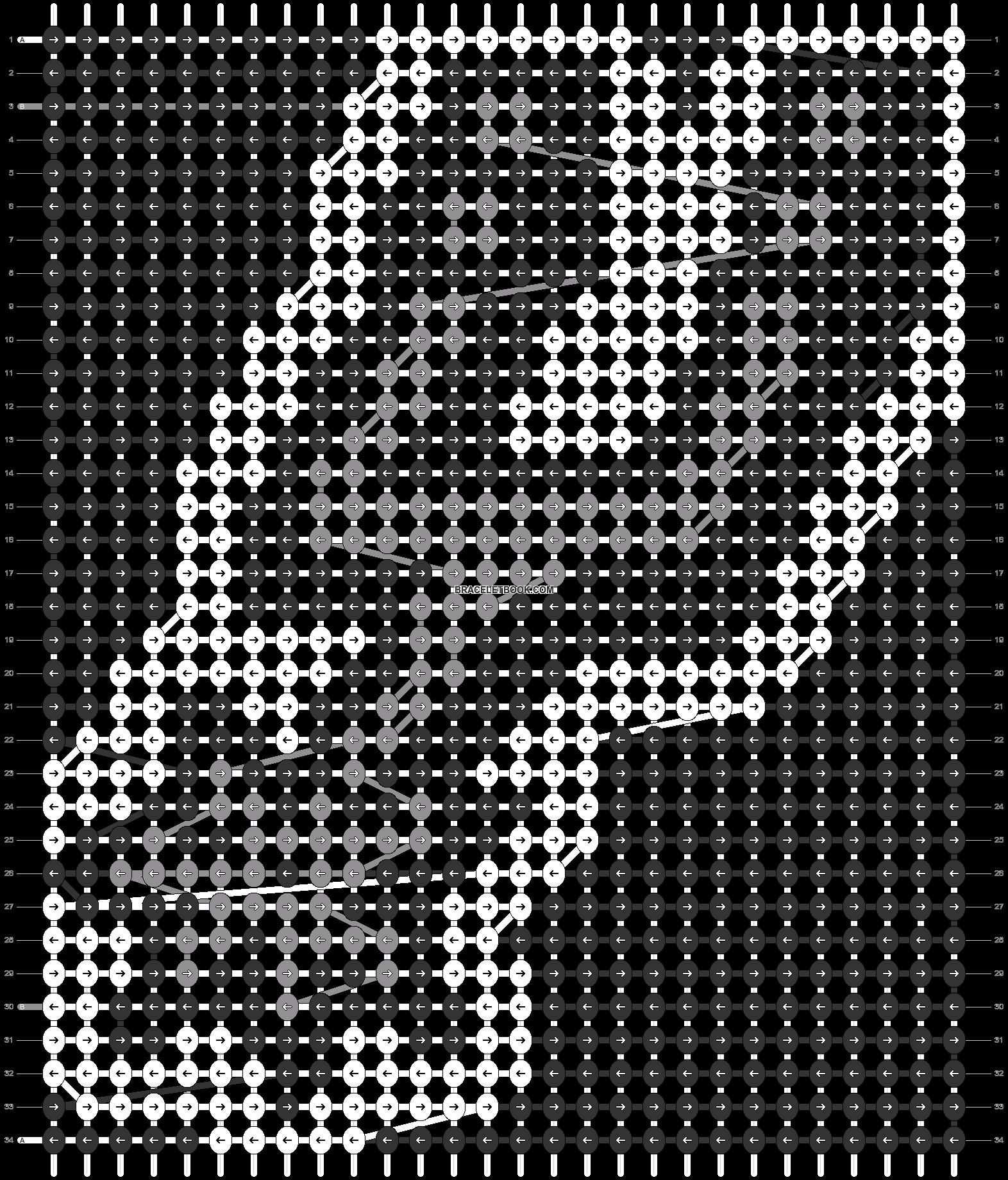 Alpha pattern #66705 pattern