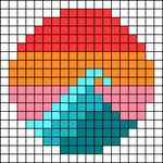 Alpha pattern #66723