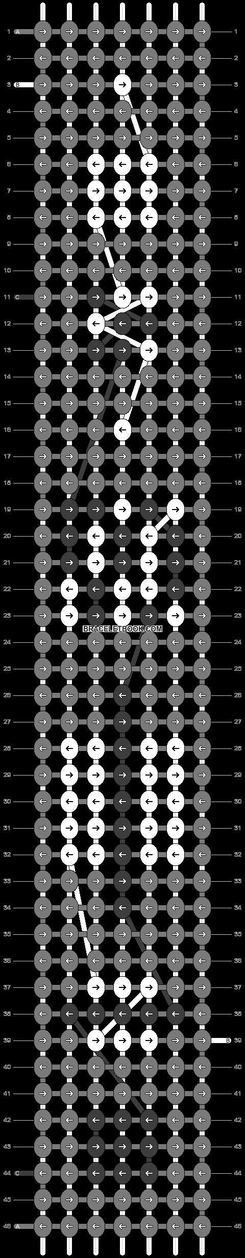 Alpha pattern #66741 pattern