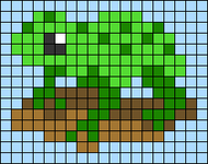 Alpha pattern #66743