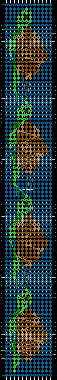 Alpha pattern #66745 pattern