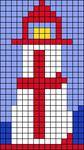 Alpha pattern #66747