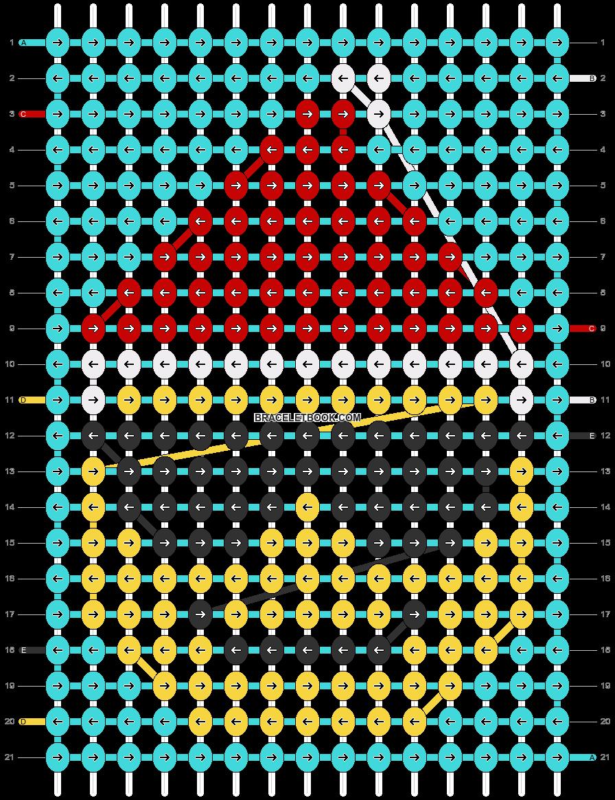 Alpha pattern #66812 pattern