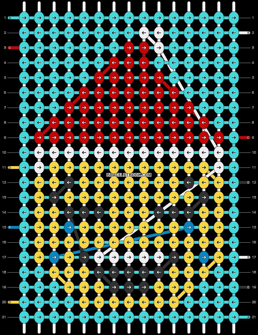 Alpha pattern #66813 pattern