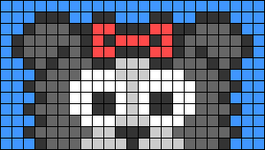 Alpha pattern #66823