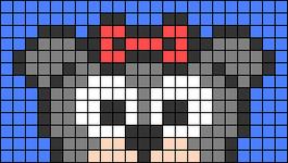 Alpha pattern #66824