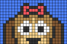 Alpha pattern #66827