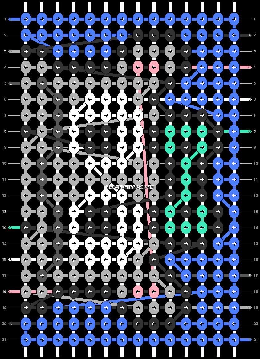 Alpha pattern #66828 pattern