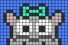 Alpha pattern #66828
