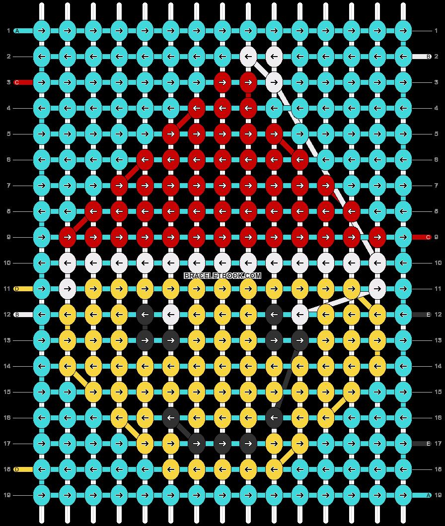 Alpha pattern #66833 pattern