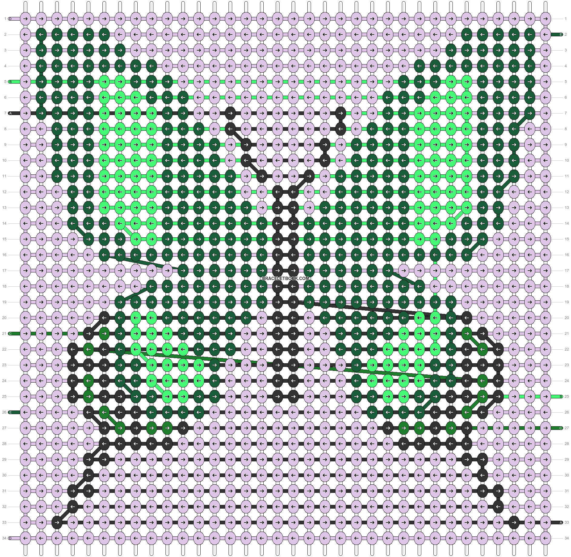 Alpha pattern #66944 pattern