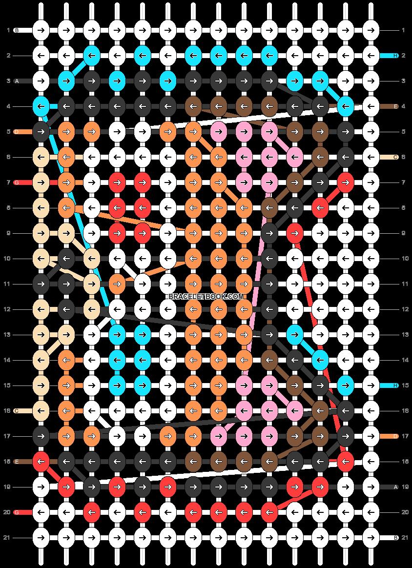 Alpha pattern #66950 pattern