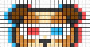 Alpha pattern #66951
