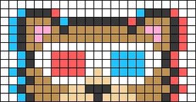 Alpha pattern #66954