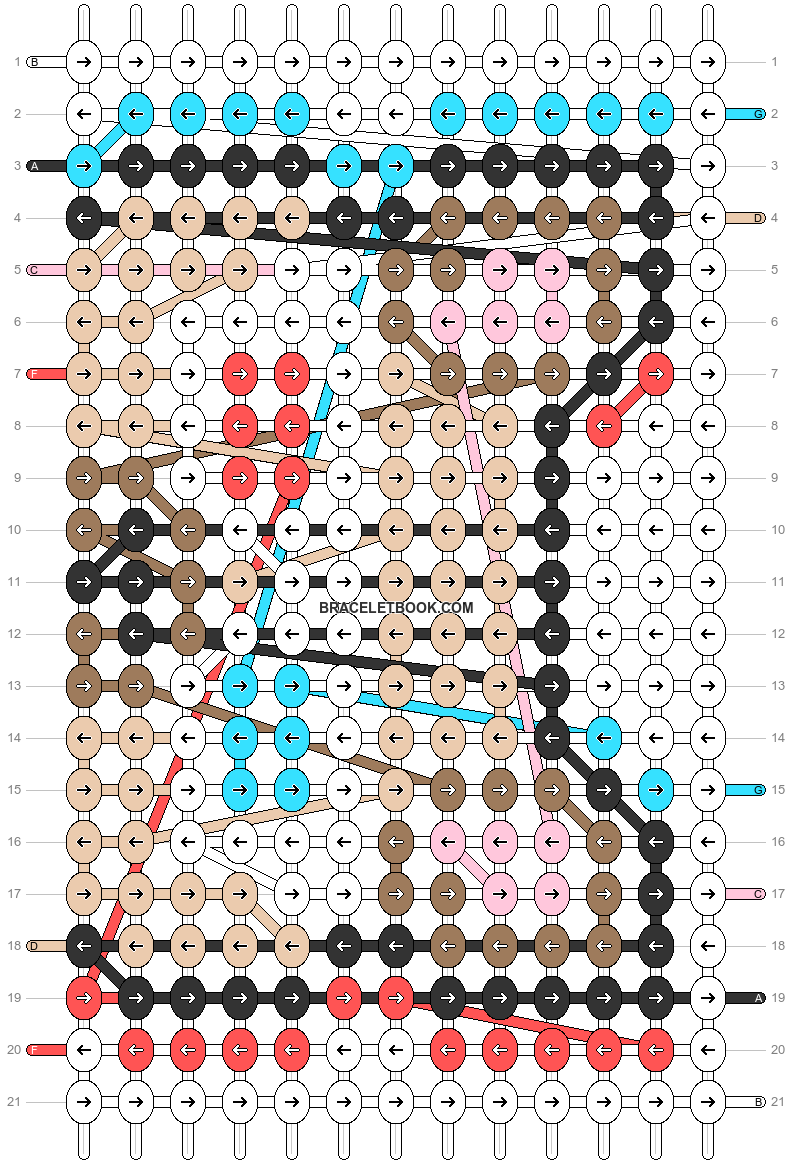 Alpha pattern #66955 pattern