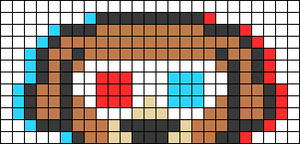 Alpha pattern #66956