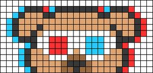 Alpha pattern #66957