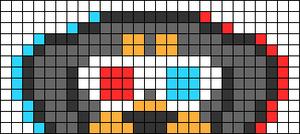 Alpha pattern #66958