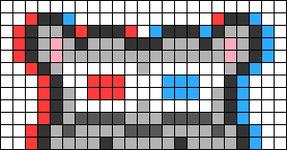 Alpha pattern #66964