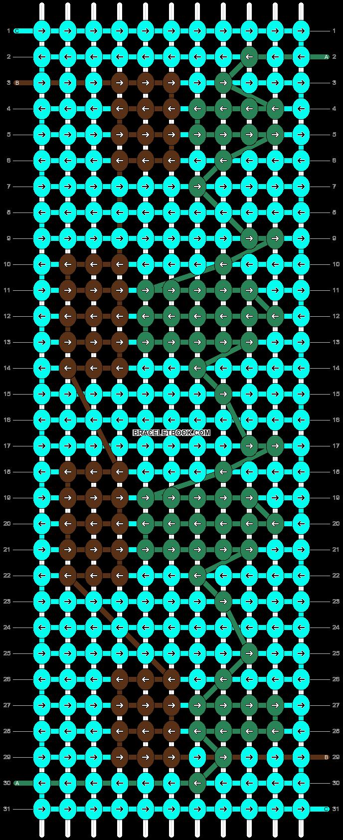 Alpha pattern #67002 pattern
