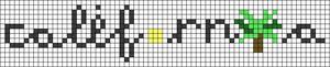 Alpha pattern #67009