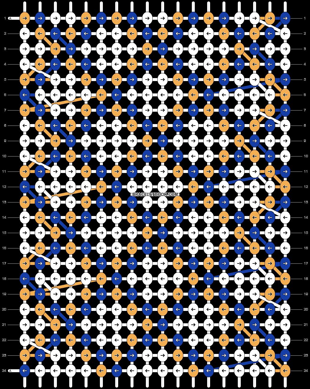 Alpha pattern #67034 pattern