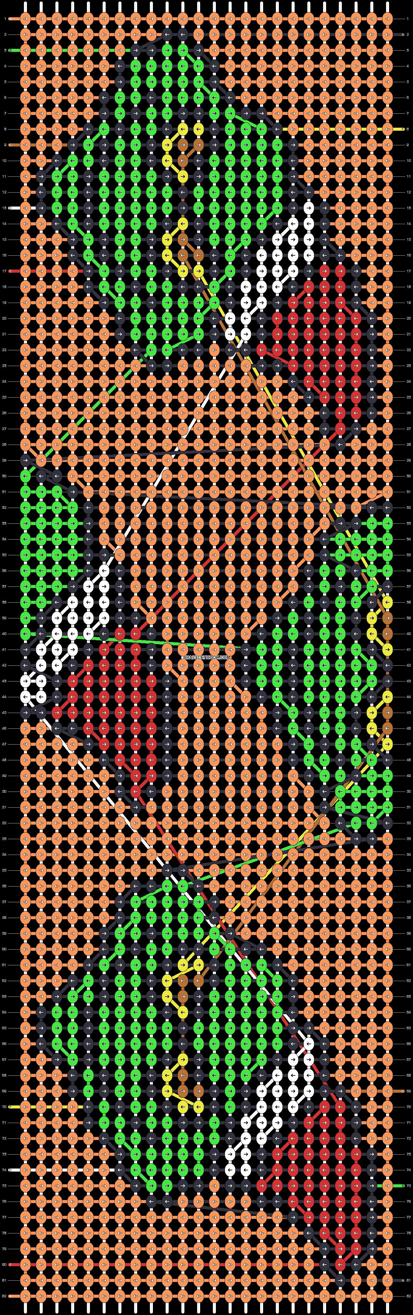 Alpha pattern #67102 pattern