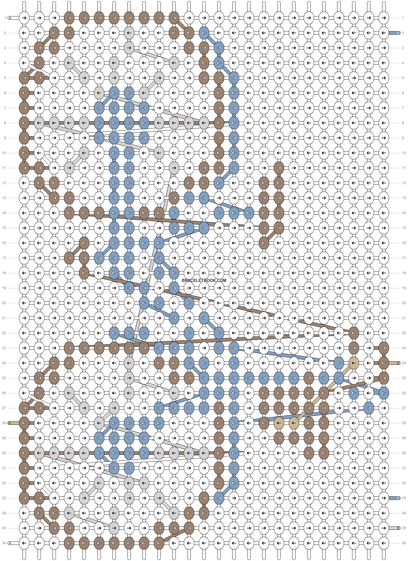 Alpha pattern #67160 pattern