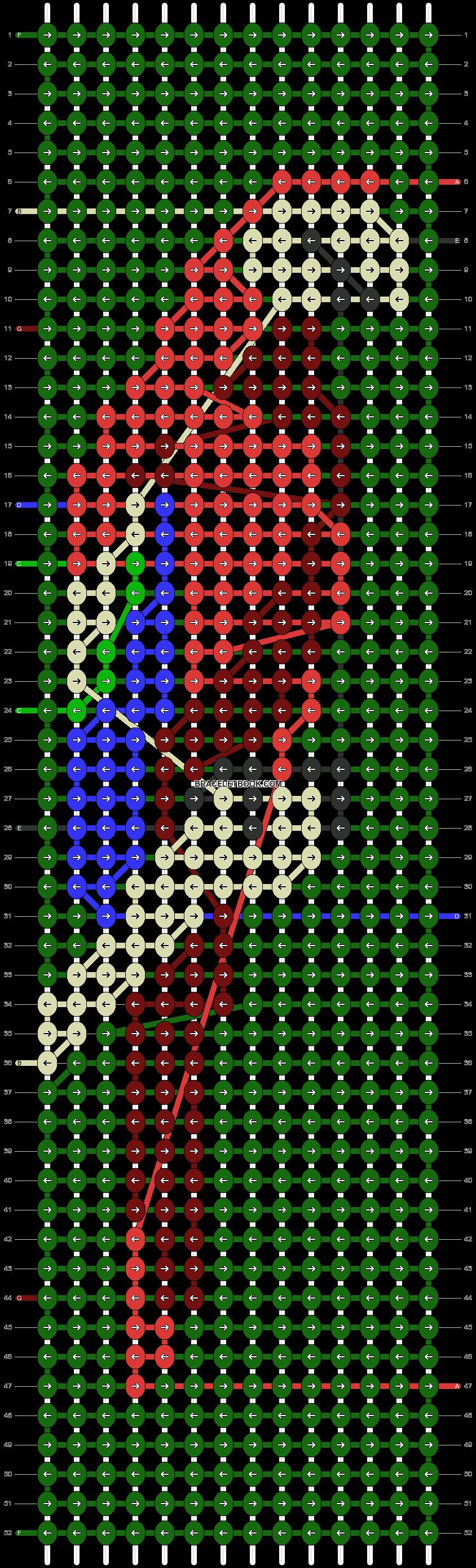 Alpha pattern #67164 pattern