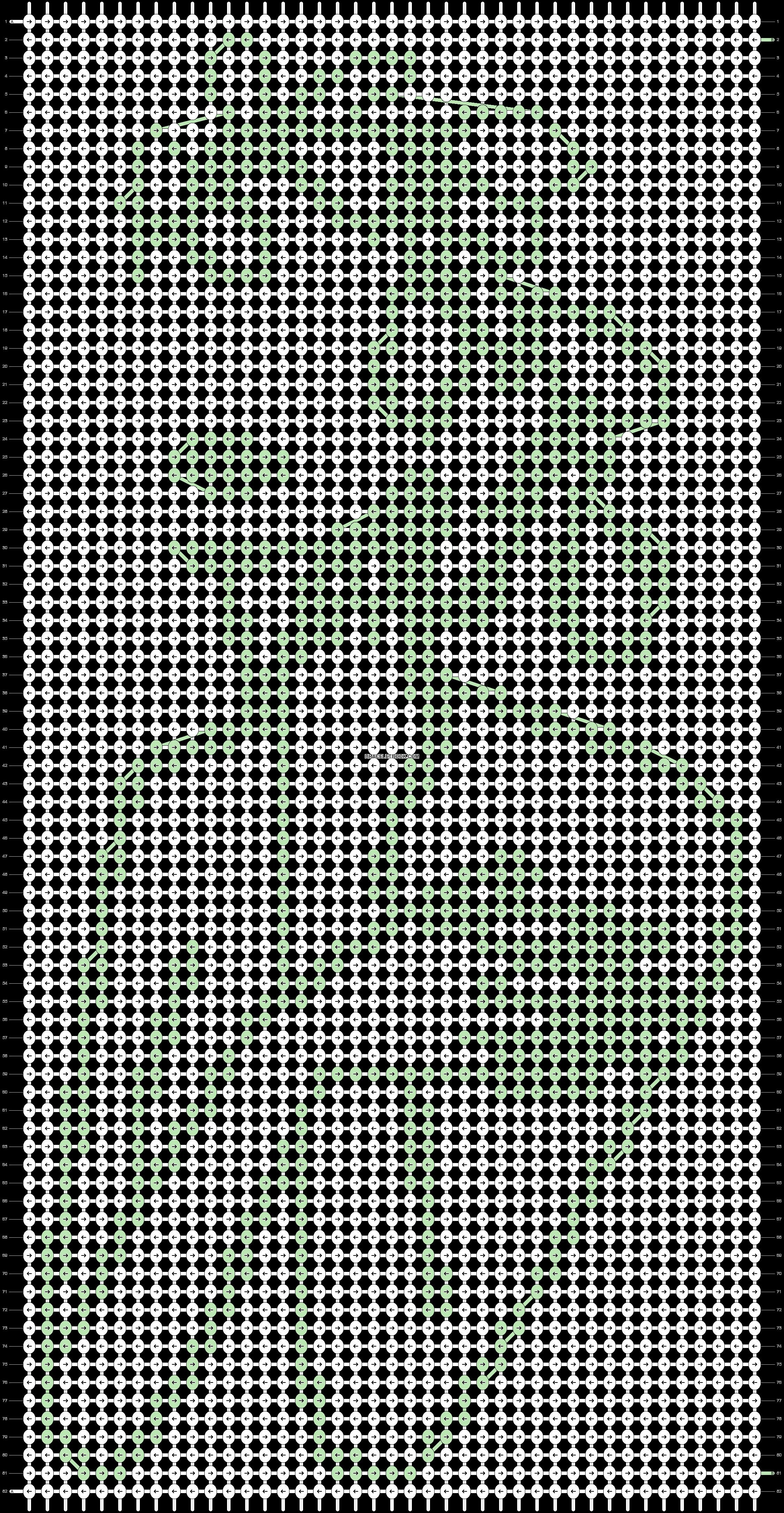 Alpha pattern #67168 pattern