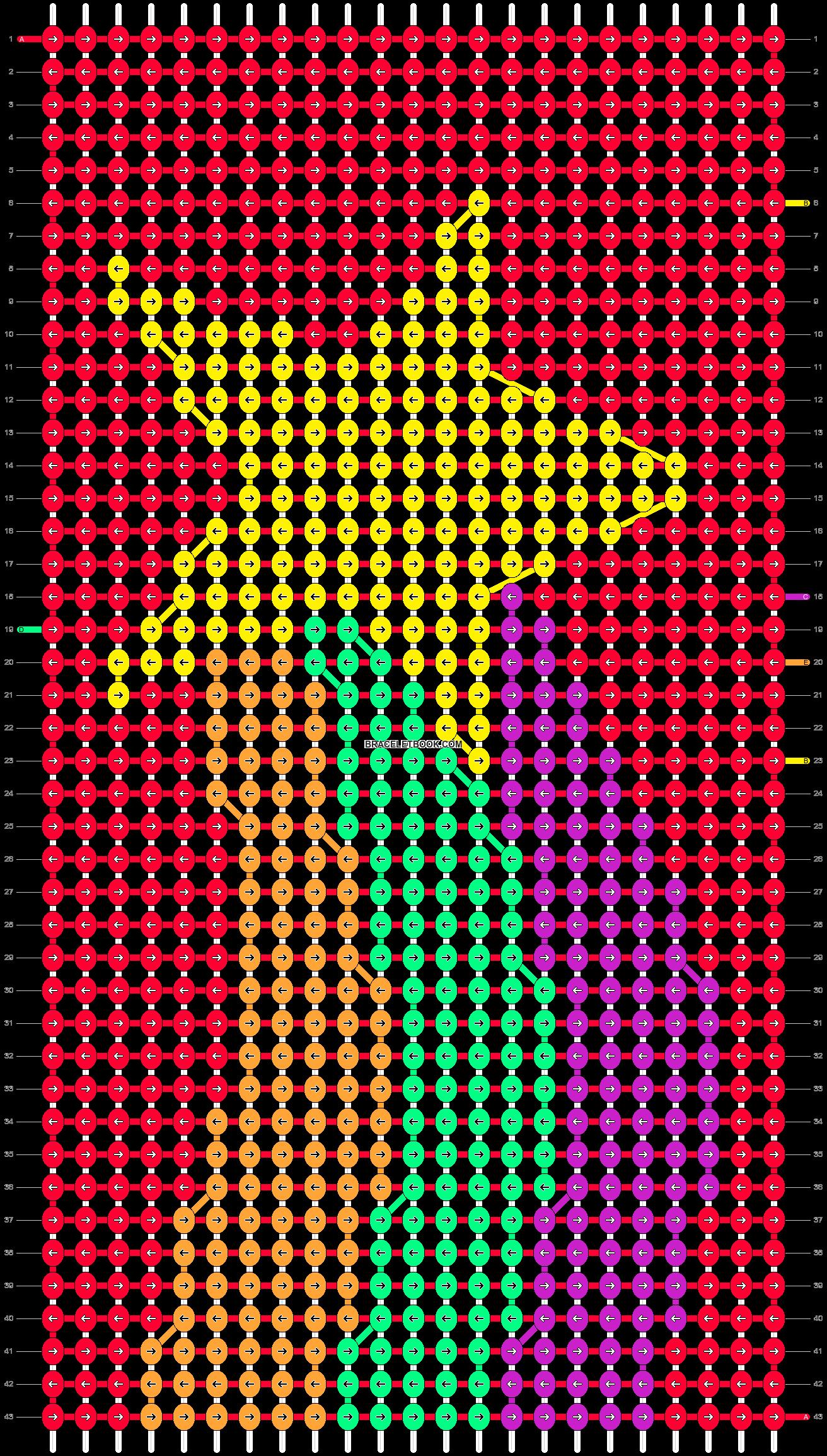 Alpha pattern #67182 pattern