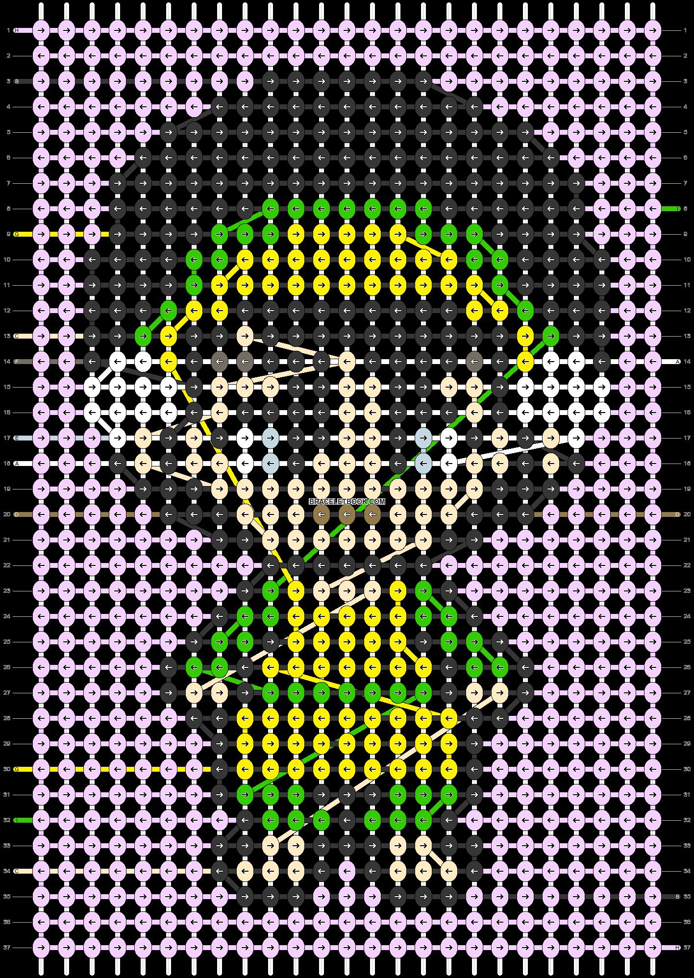 Alpha pattern #67208 pattern