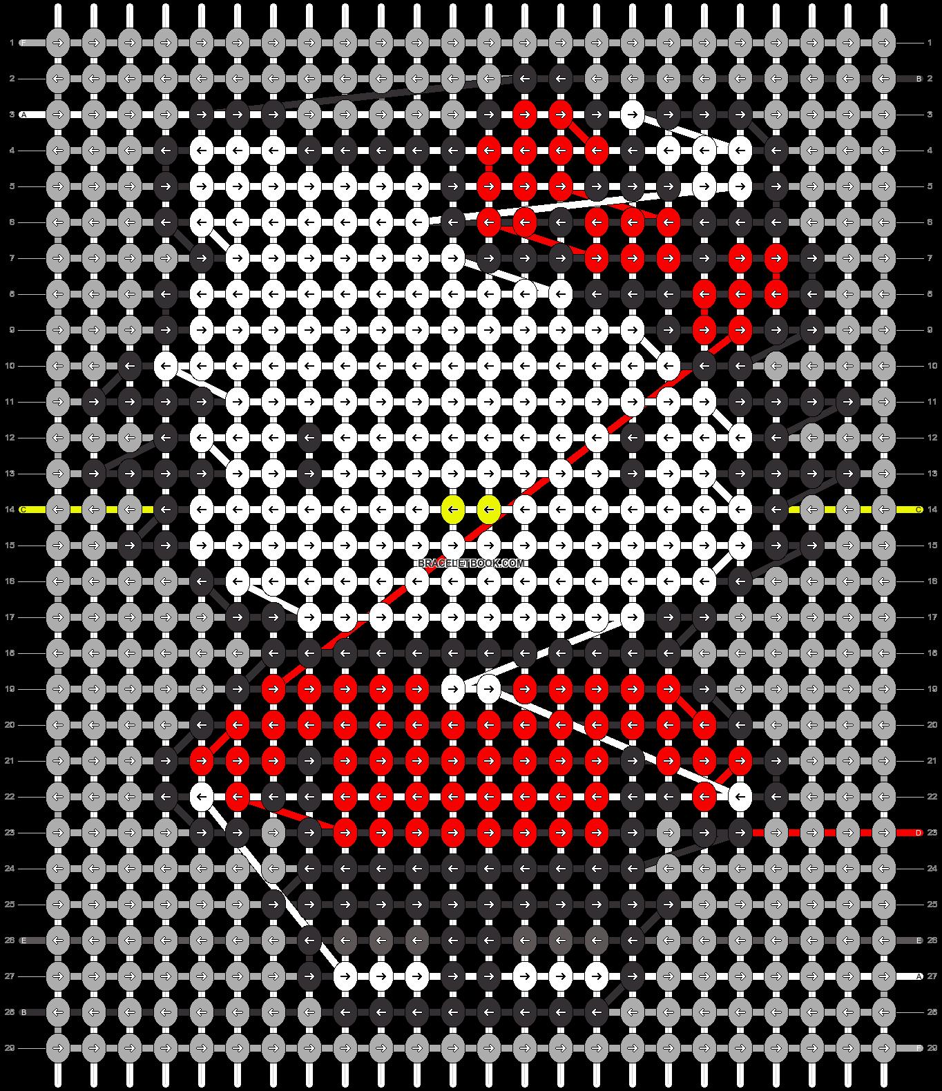Alpha pattern #67234 pattern