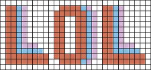 Alpha pattern #67325