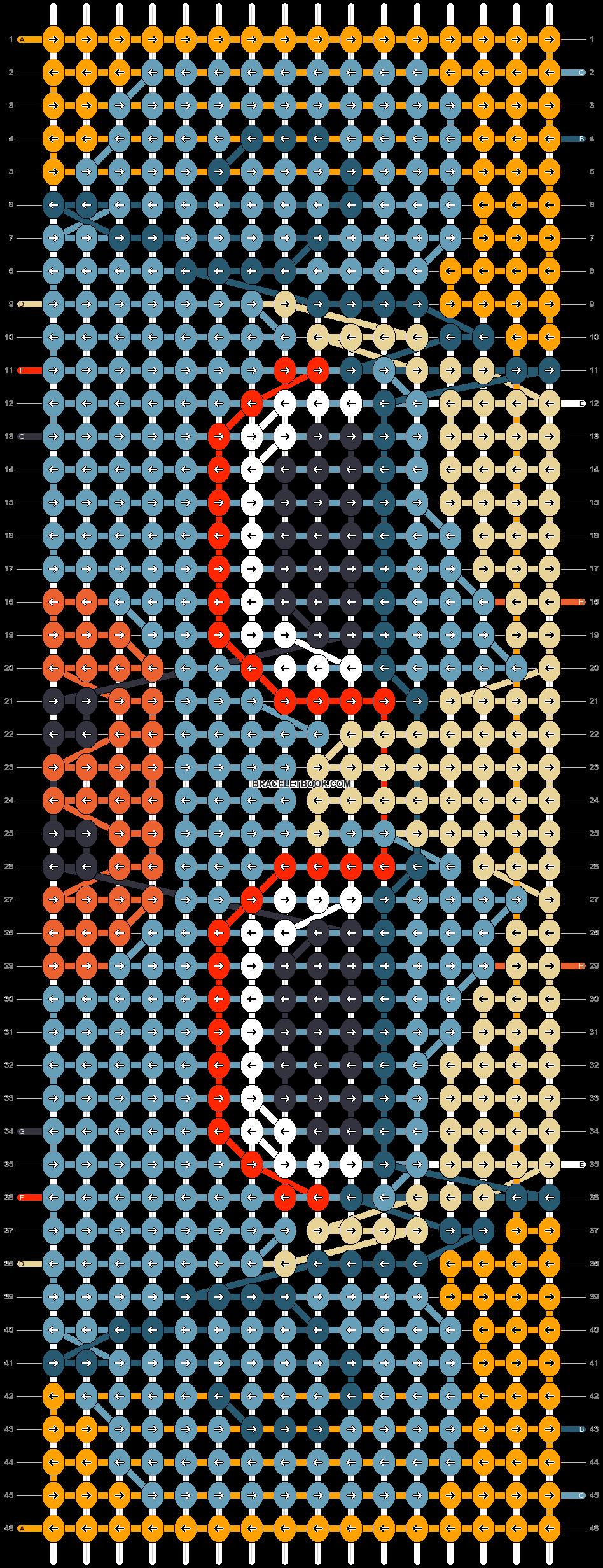 Alpha pattern #67376 pattern