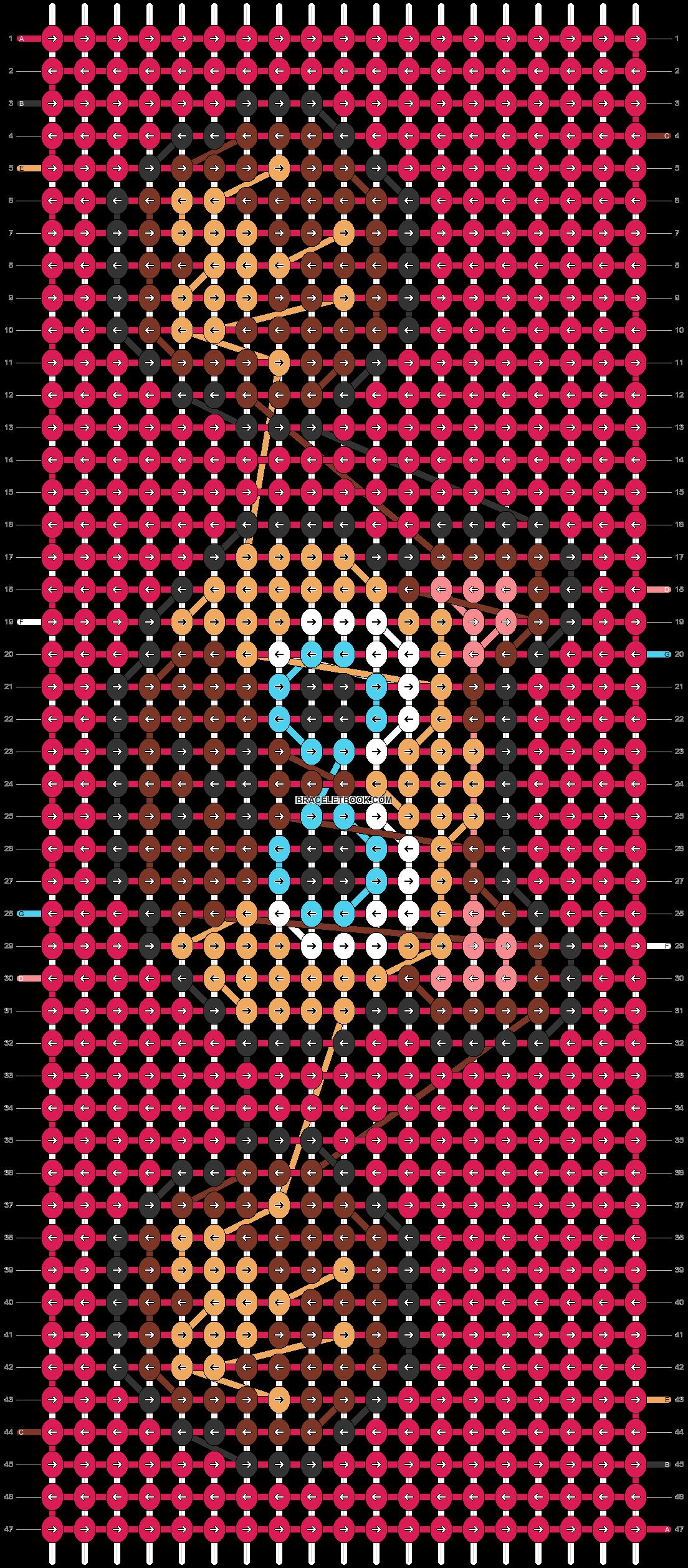 Alpha pattern #67433 pattern