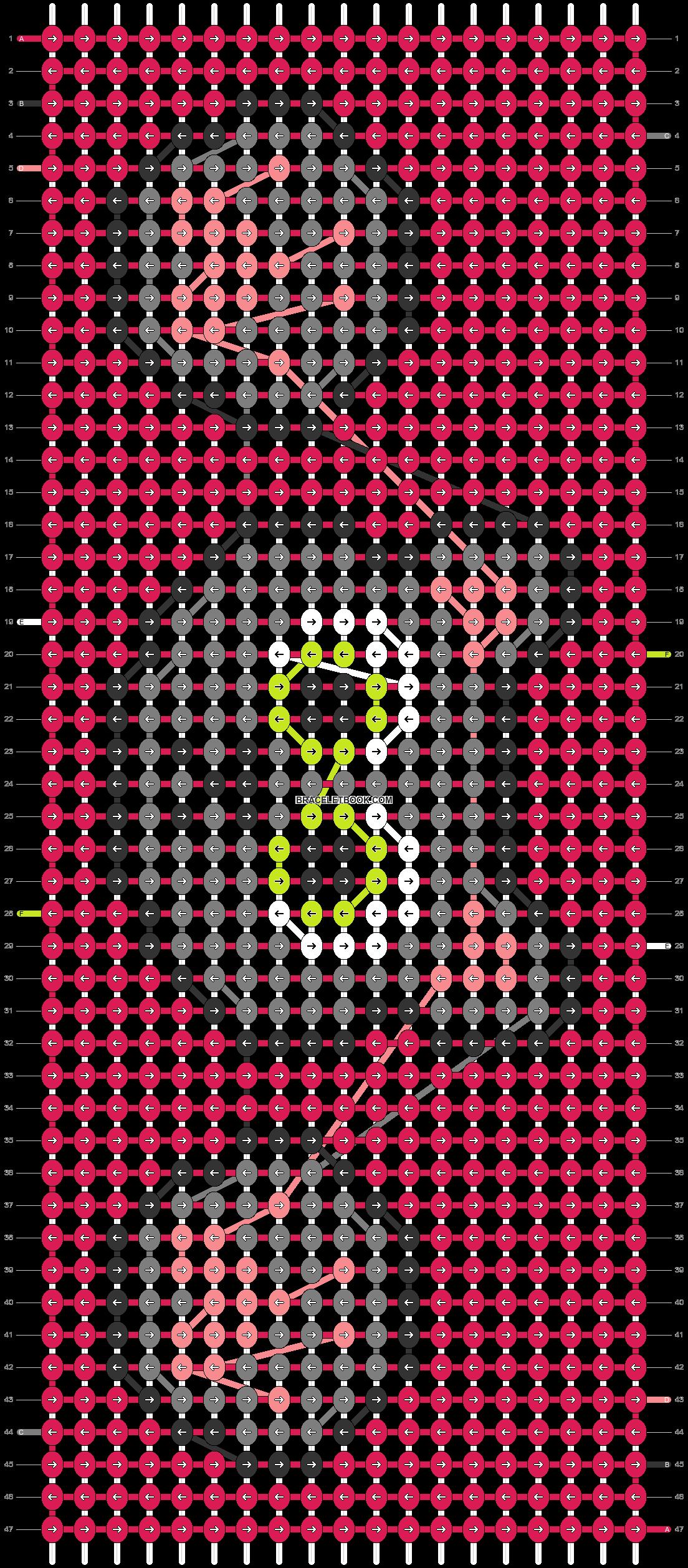 Alpha pattern #67434 pattern