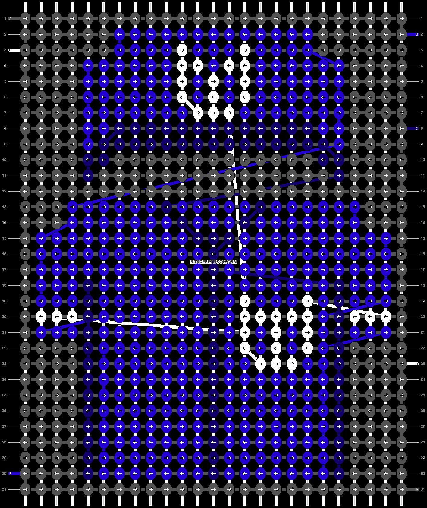 Alpha pattern #67505 pattern