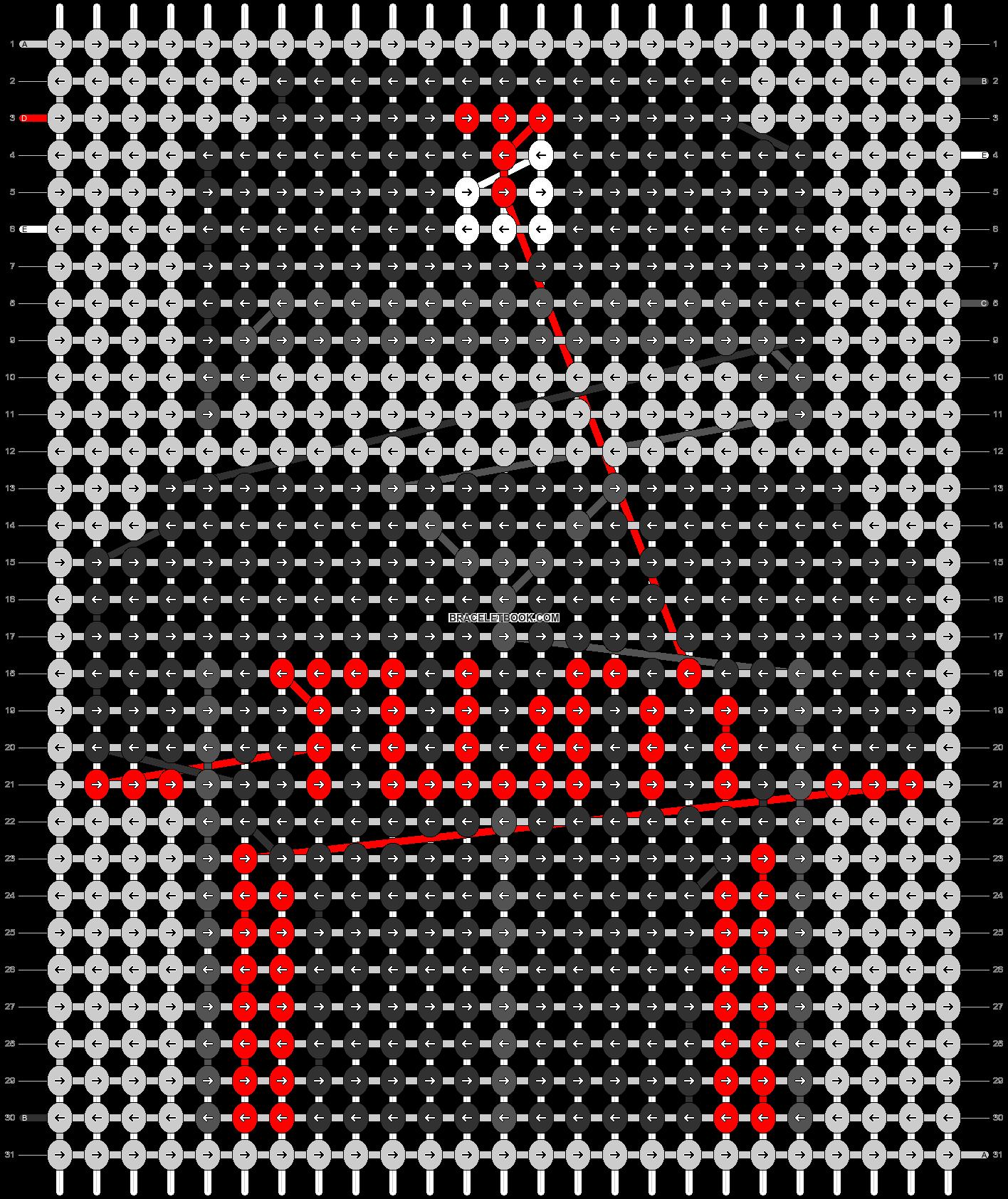 Alpha pattern #67507 pattern