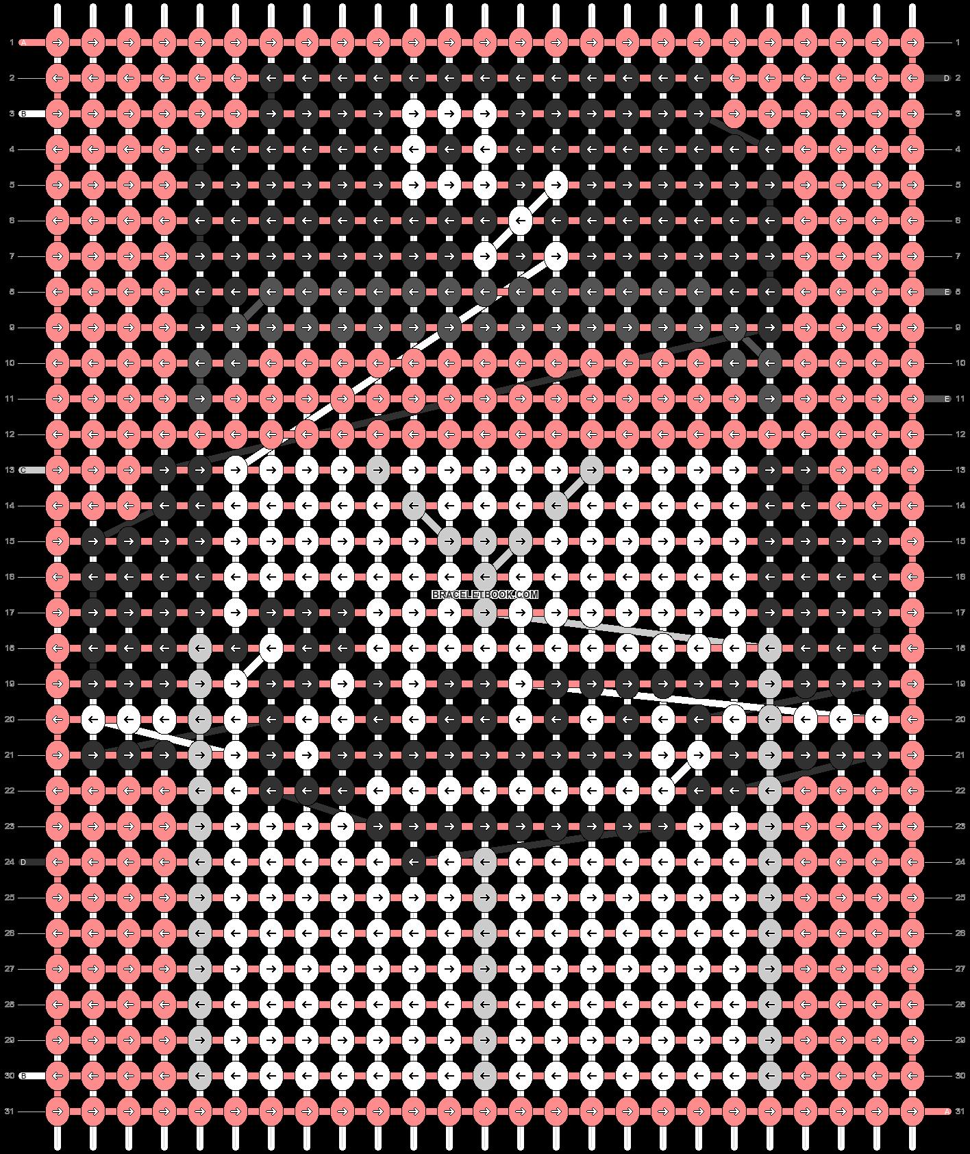 Alpha pattern #67510 pattern