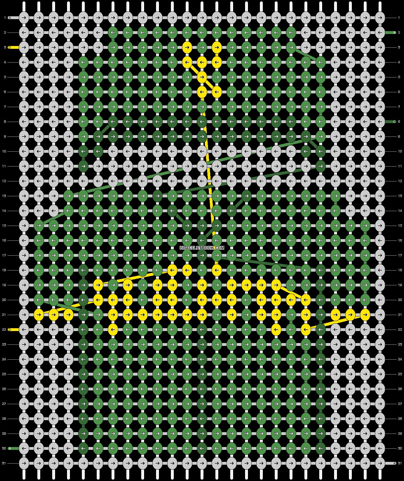 Alpha pattern #67511 pattern