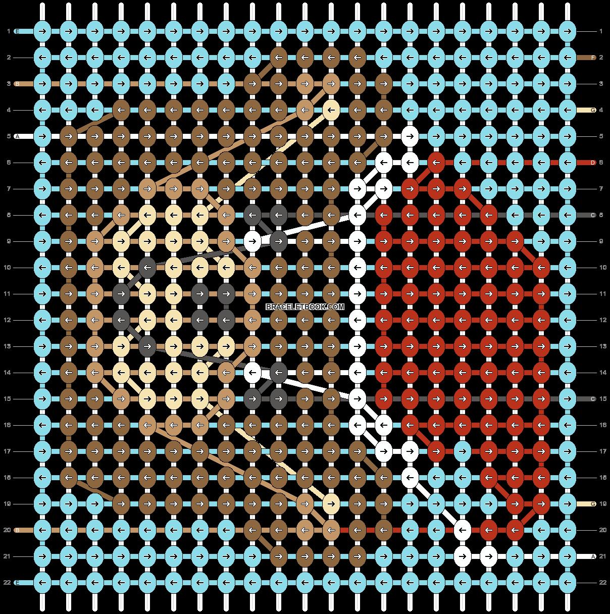 Alpha pattern #67517 pattern