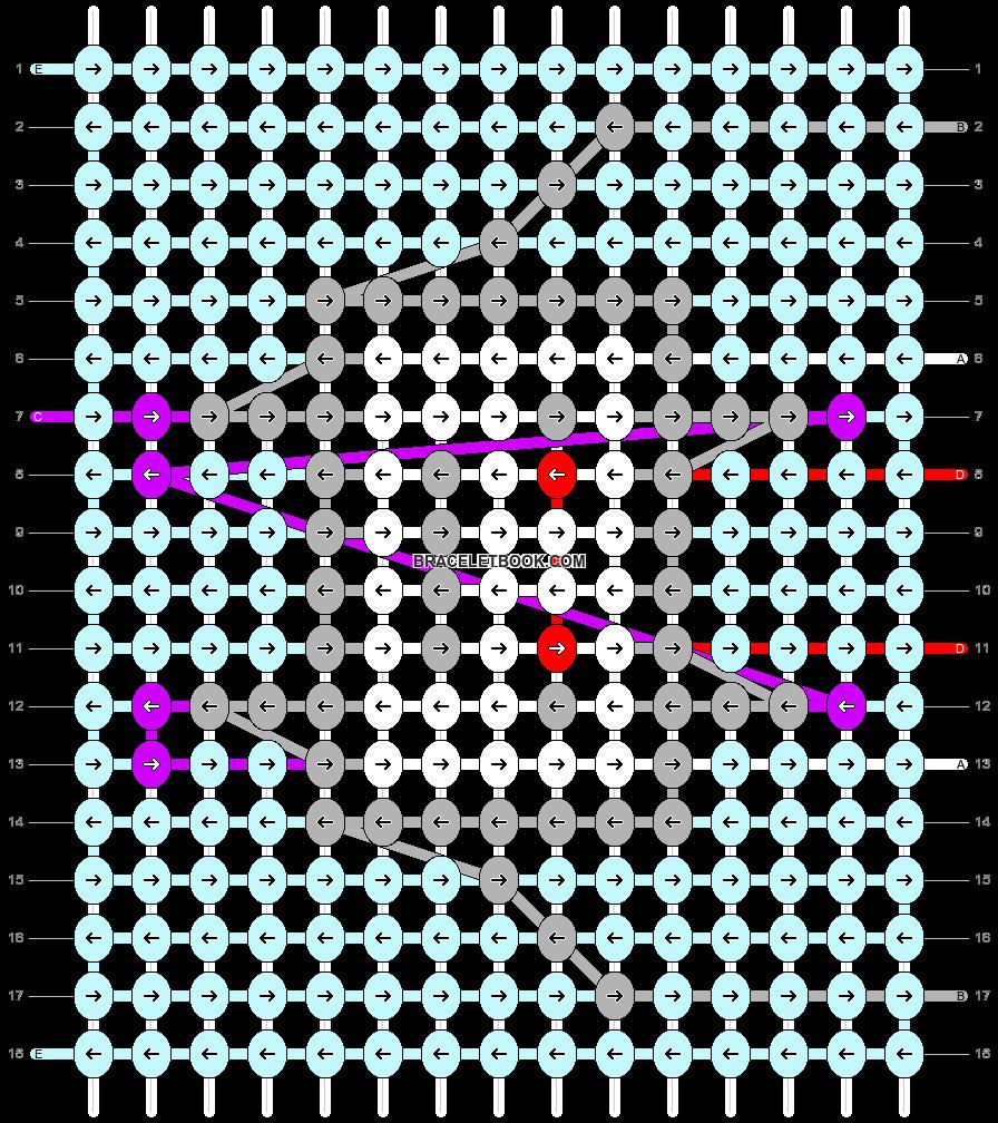 Alpha pattern #67590 pattern