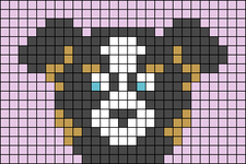 Alpha pattern #67600