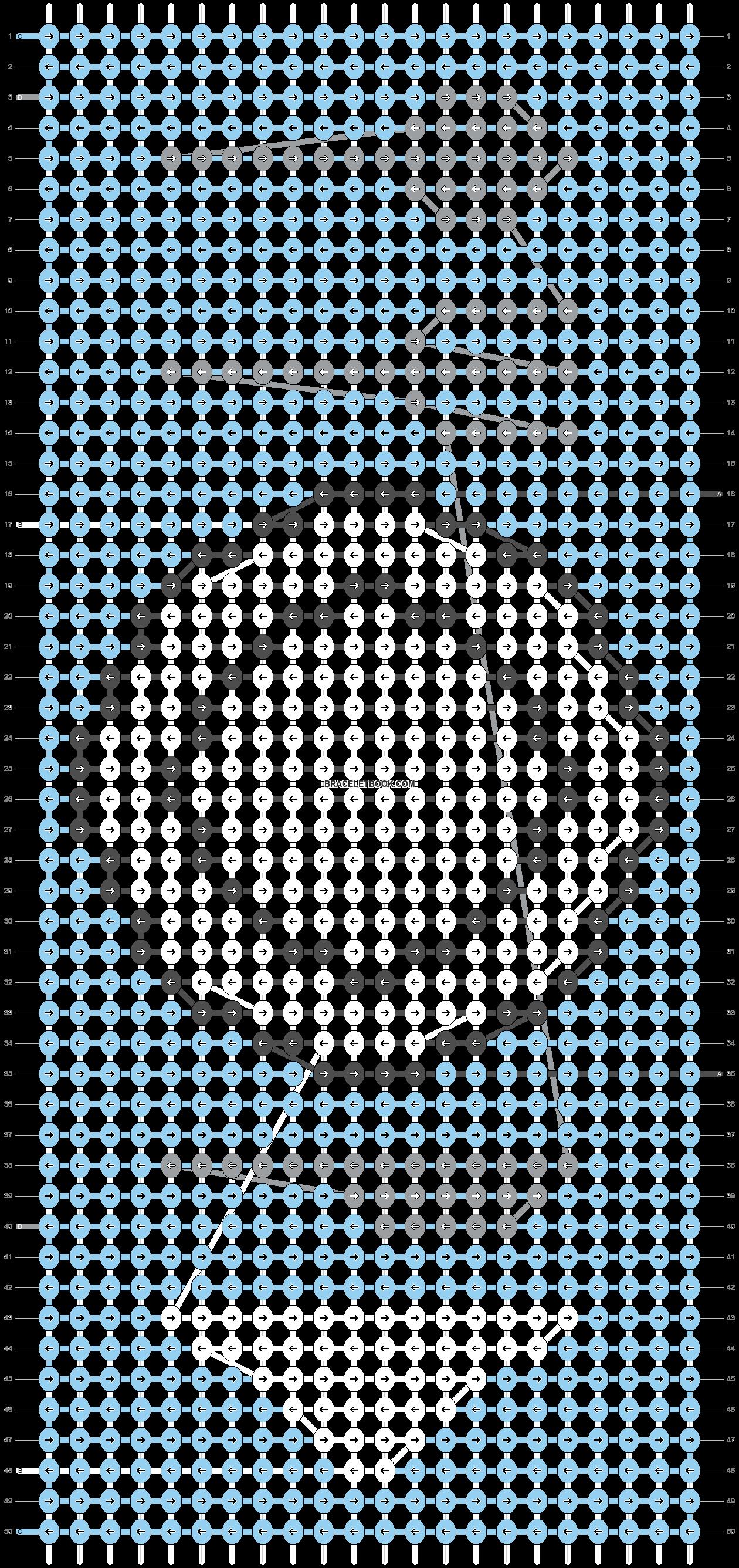 Alpha pattern #67601 pattern
